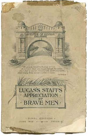 Brave Men booklet cover