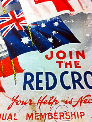 Join The Red Cross - poster