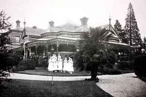 Ballarat Red Cross Convalescent Home 1918