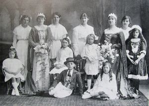 Two Charity Queens 1916