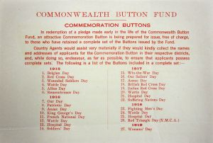 Button Fund 1919