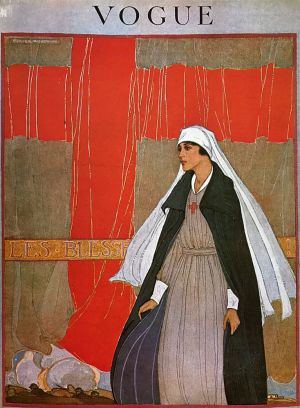 Nurse Vogue Cover 1918