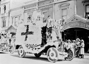 Red Cross Float Ballarat 1914